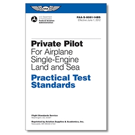 PRIVATE PILOT SINGLE-ENGINE PRACTICAL TEST STANDARDS ASA-8081-14BS