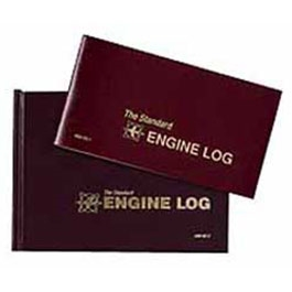 MAINTENANCE ENGINE LOGBOOK BURGUNDY SE-1