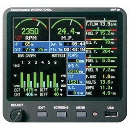 ELECTRONICS INTERNATIONAL ENGINE MONITOR MVP-50T-A