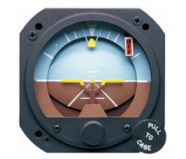 RC ALLEN ELECTRIC ATTITUDE INDICATOR RCA26AK-2