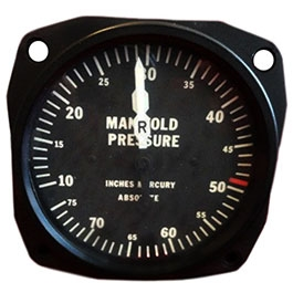 UNITED INSTRUMENTS MANIFOLD PRESSURE GAUGE 6121E SERIES