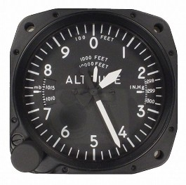 UNITED INSTRUMENTS ALTIMETER A131