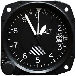 UNITED INSTRUMENTS ALTIMETER A84