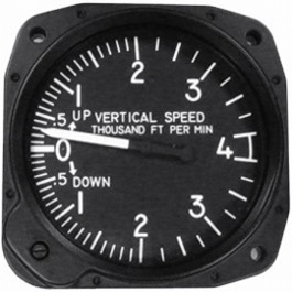 UNITED INSTRUMENTS VERTICAL SPEED INDICATOR 7030-C27