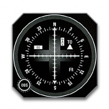 BENDIXKING NAVIGATION INDICATOR KI 206
