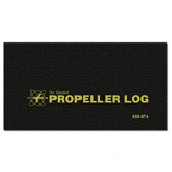 MAINTENANCE PROPELLER LOG BLACK SP-L