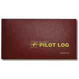 PILOT LOGBOOK, BURGUNDY SP-40