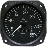 "MITCHELL MECHANICAL 3 1/8"" TACHOMETER D1-112-5025"