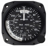 UNITED INSTRUMENTS TRUE AIRSPEED INDICATOR 8130-B185