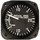UNITED INSTRUMENTS VERTICAL SPEED INDICATOR 7000-C31