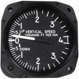 UNITED INSTRUMENTS VERTICAL SPEED INDICATOR 7040-C28