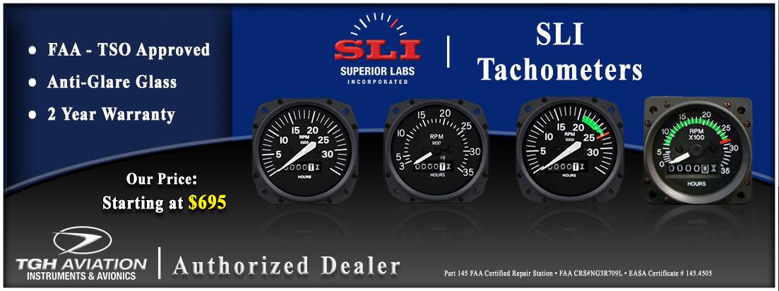 SLI Superior Labs Incorporated Tachometers