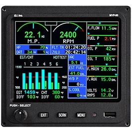 ELECTRONICS INTERNATIONAL ENGINE MONITOR MVP-50P-6-FADEC