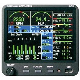 ELECTRONICS INTERNATIONAL ENGINE MONITOR MVP-50T-WJ33