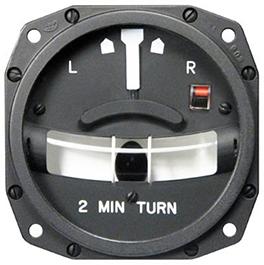 MID-CONTINENT INSTRUMENTS TURN & SLIP INDICATORS 1234T100-3ATZ