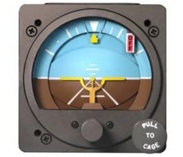 RC ALLEN ELECTRIC ATTITUDE INDICATOR RCA26AK-3