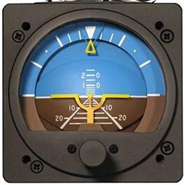 RC ALLEN VACUUM ATTITUDE INDICATOR RCA22-11