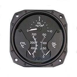 SIGMA-TEK ENGINE GAUGE 1U378-003