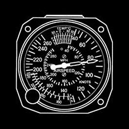 SIGMA-TEK STANDARD AIRSPEED EA5176-PTL