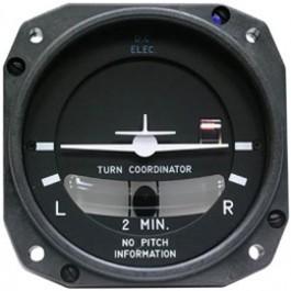 MID-CONTINENT INSTRUMENTS TURN COORDINATOR 1394T100-3B