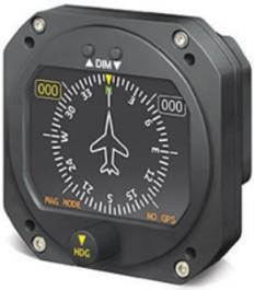 RC ALLEN RCA1510-3 DIGITAL HEADING INDICATOR