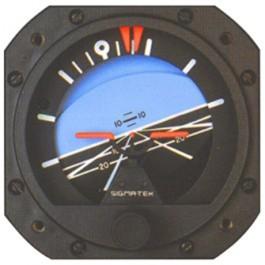 SIGMA-TEK VACUUM ATTITUDE INDICATOR 5000B-64