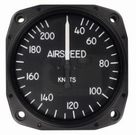 UNITED INSTRUMENTS AIRSPEED INDICATOR 8025-B447