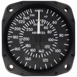 UNITED INSTRUMENTS AIRSPEED INDICATOR 8030-B466