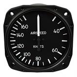 UNITED INSTRUMENTS AIRSPEED INDICATOR 8000-B446