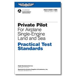 PRIVATE PILOT SINGLE-ENGINE PRACTICAL TEST STANDARDS ASA-8081-14BS