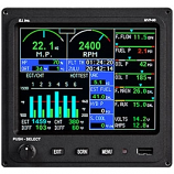 ELECTRONICS INTERNATIONAL ENGINE MONITOR MVP-50P-4-FADEC