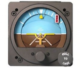 RC ALLEN ELECTRIC ATTITUDE INDICATOR RCA26AK-3