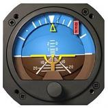 RC ALLEN VACUUM ATTITUDE INDICATOR RCA22-7F