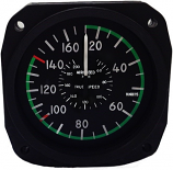 UNITED INSTRUMENTS AIRSPEED INDICATOR 8000-B464