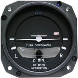 MID-CONTINENT INSTRUMENTS TURN COORDINATOR 1394T100-7B