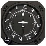 RC ALLEN VACUUM DIRECTIONAL GYRO RCA11A-15
