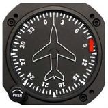 RC ALLEN VACUUM DIRECTIONAL GYRO RCA11A-8F