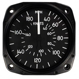 UNITED INSTRUMENTS AIRSPEED INDICATOR 8000-B156