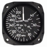 UNITED INSTRUMENTS AIRSPEED INDICATOR 8000-B166
