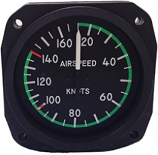UNITED INSTRUMENTS AIRSPEED INDICATOR 8000-B446