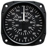 UNITED INSTRUMENTS AIRSPEED INDICATOR 8025-B167