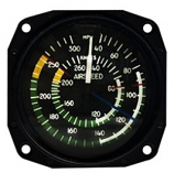 UNITED INSTRUMENTS AIRSPEED INDICATOR 8030-B168