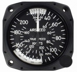 UNITED INSTRUMENTS TRUE AIRSPEED INDICATOR 8100-B100