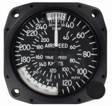 UNITED INSTRUMENTS TRUE AIRSPEED INDICATOR 8125-B97