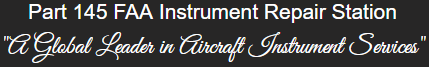 Part 145 FAA Instrument Repair Station - A Global Leader in Aircraft Instrument Services